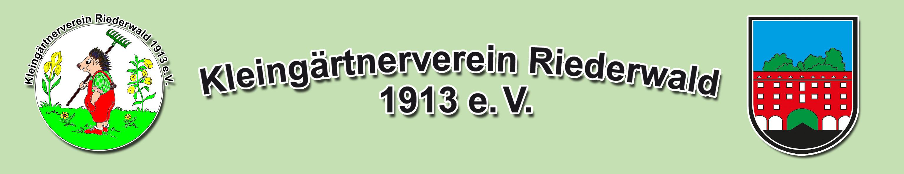 Kleingärtnerverein Riederwald 1913 e.V. Logo